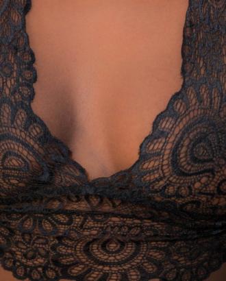 Bralette tentation noir
