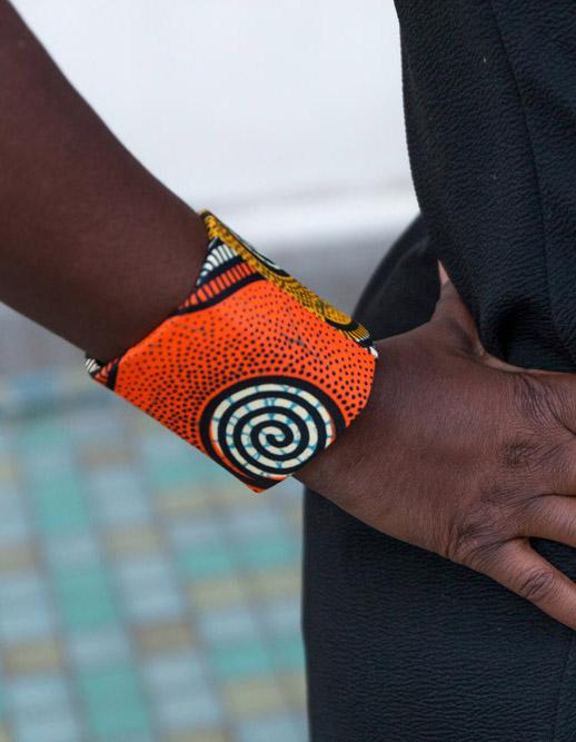 Bracelet manchette ethnique dikta