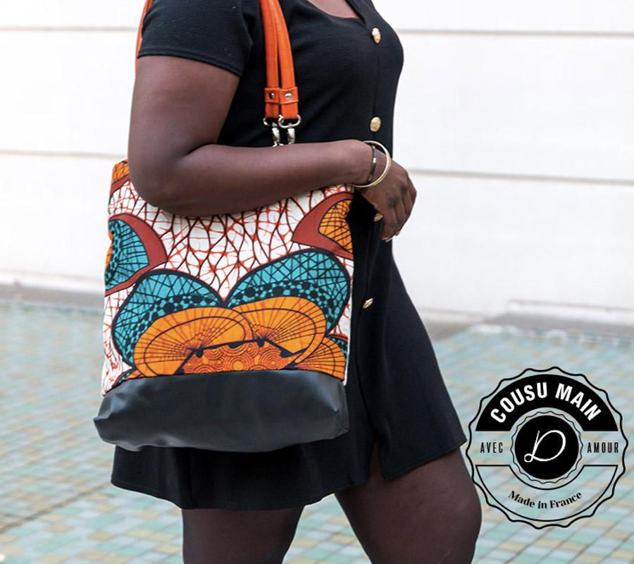 Maxi sac à mains africain