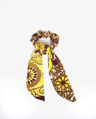 chouchou foulard femme lemon dikta