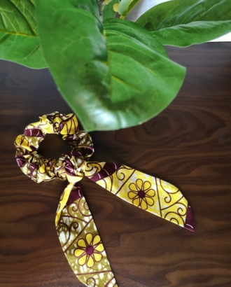 chouchou foulard femme lemon dikta 1