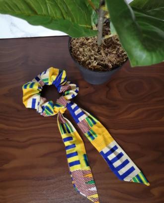 chouchou foulard kente dikta 1