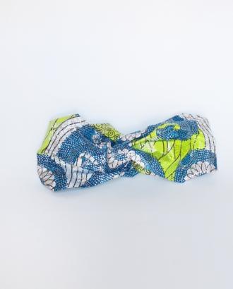 headband xxl dikta vert bleu et argenté