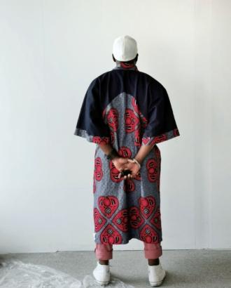 kimono jeans et wax manny